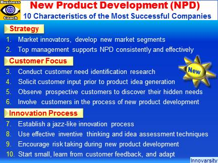 New product development 10 best practices product for New product design and development