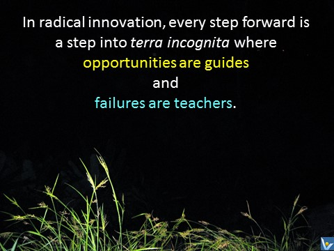 Innovation quotes failures are teachers, opportunities are guides Vadim Kotelnikov